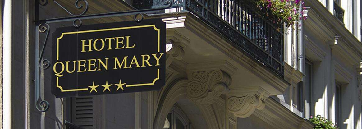 Welcome to the new website of the Hotel Queen Mary