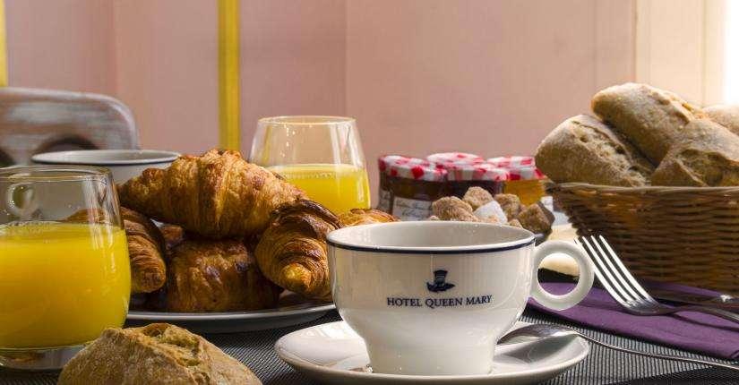 Hôtel Queen Mary - Petit déjeuner