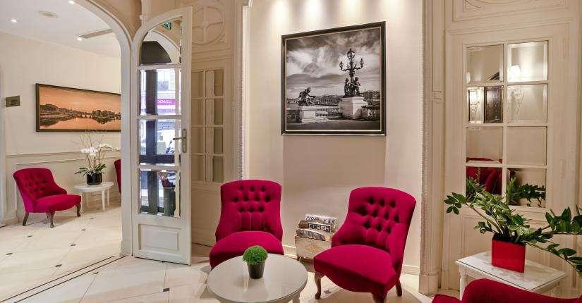 Hôtel Queen Mary - Salon